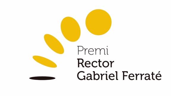 Logo premi Rector Gabriel Ferraté